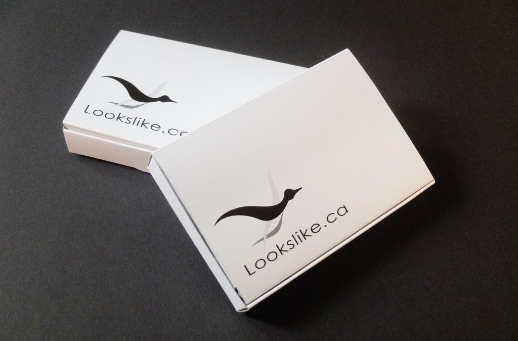 Two lookslike logo boxes