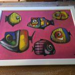 stretched & framed artwork