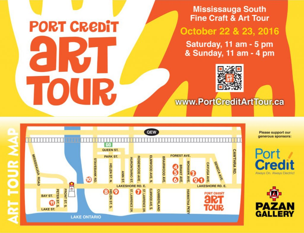 Port Credit Art Tour Flyer