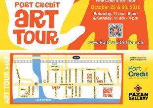 Port Credit Art Tour Flyer