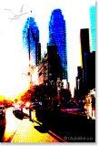 Front St. Toronto - The Flatiron Building